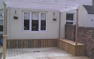 Howies Traditional Joinery - Garden Decking